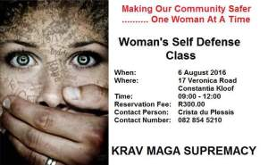 Woman's Self Defence Course - Krav Maga Supremacy with Crista