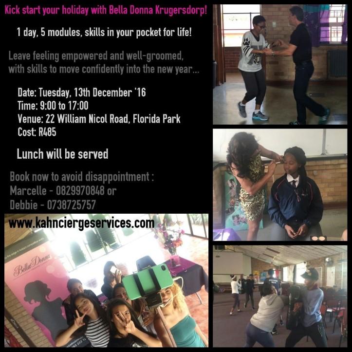 Bella Donna Krugersdorp Workshop